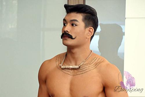 又黑又帅的泰国模特